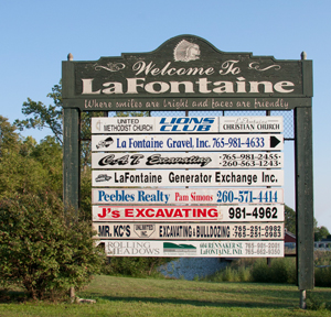 LaFontaine Sign
